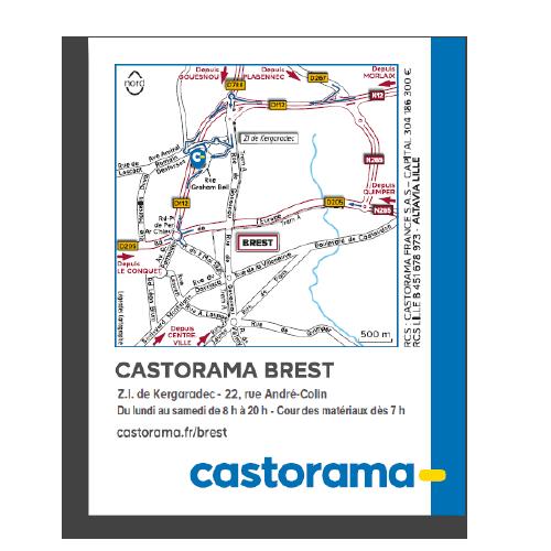 Colle map castorama
