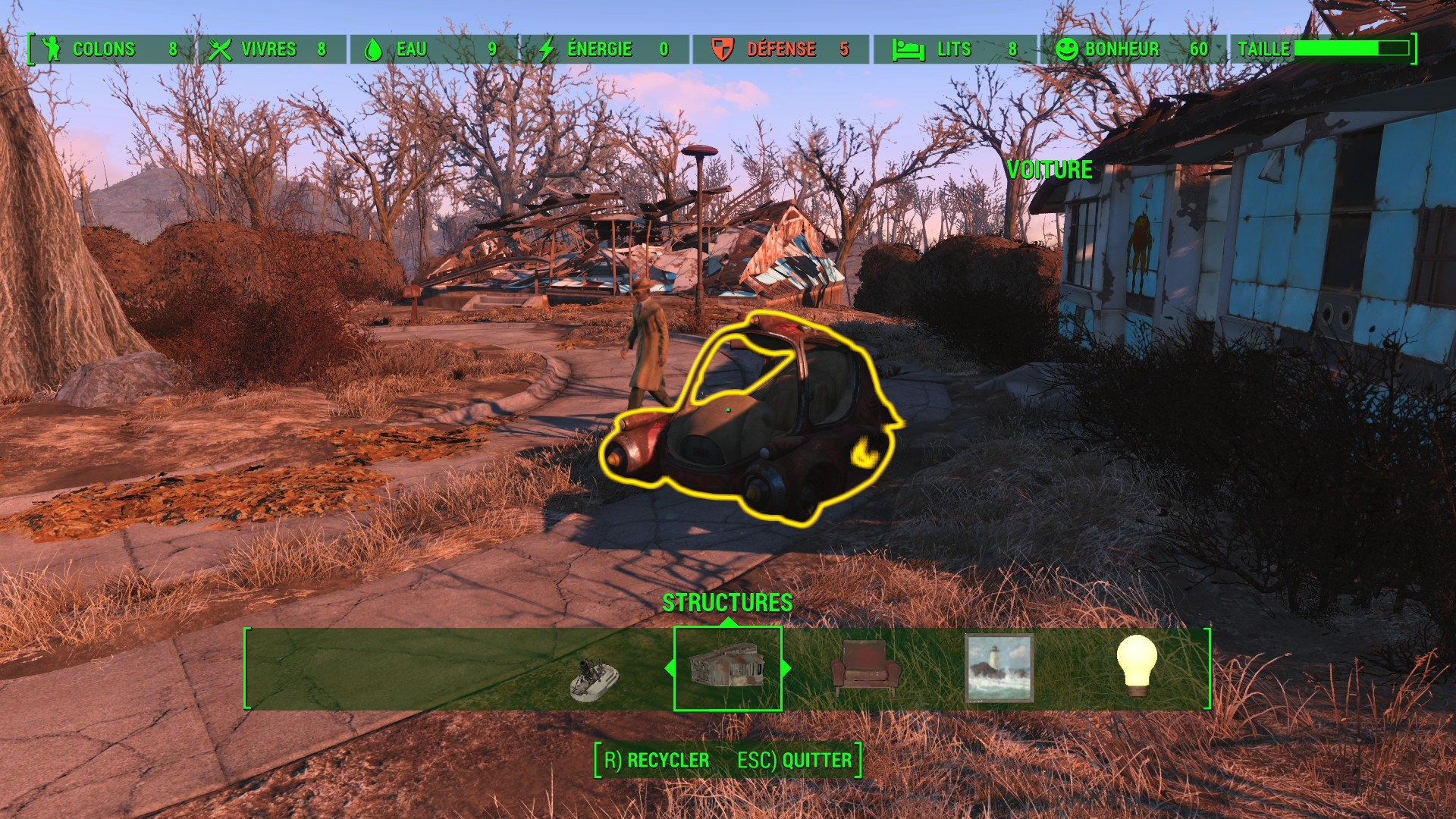 fallout 4 recycler objet chaton chien donner. Black Bedroom Furniture Sets. Home Design Ideas