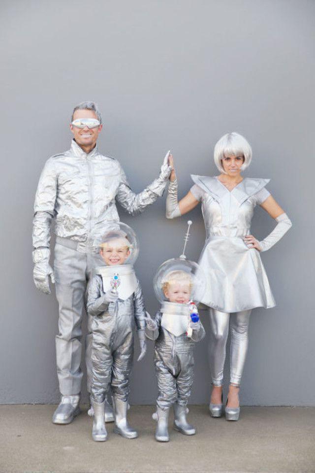 Deguisement futuriste fait maison