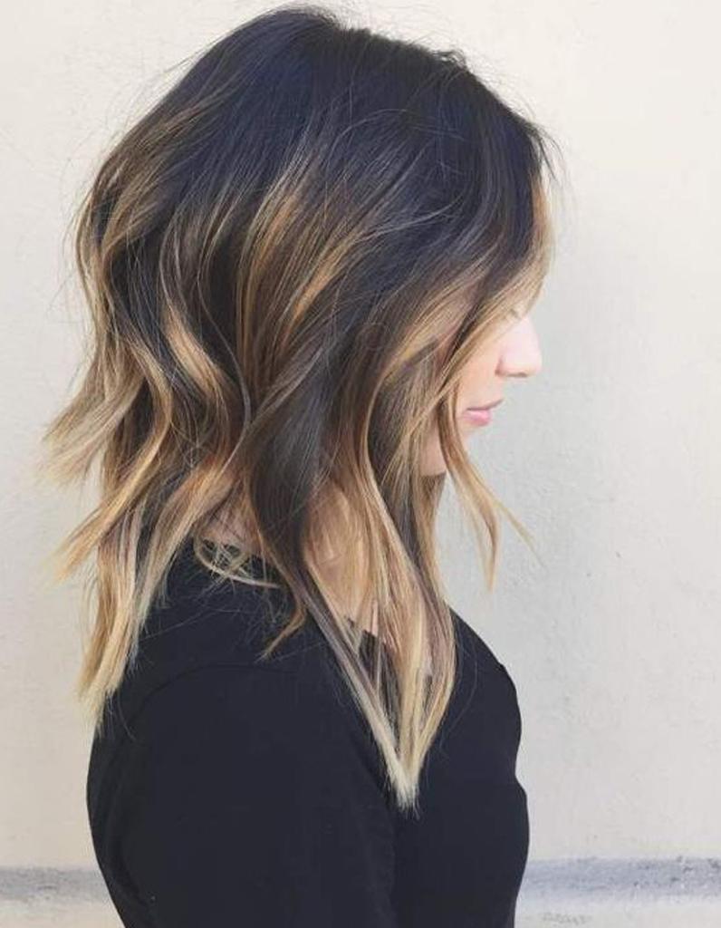 Ombré hair carré court