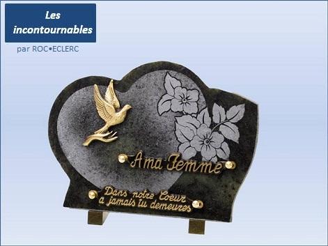 Plaque funeraire jardiland