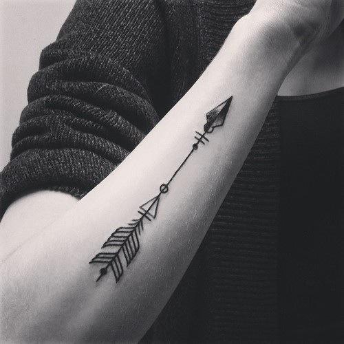 Signification tatouage fleche