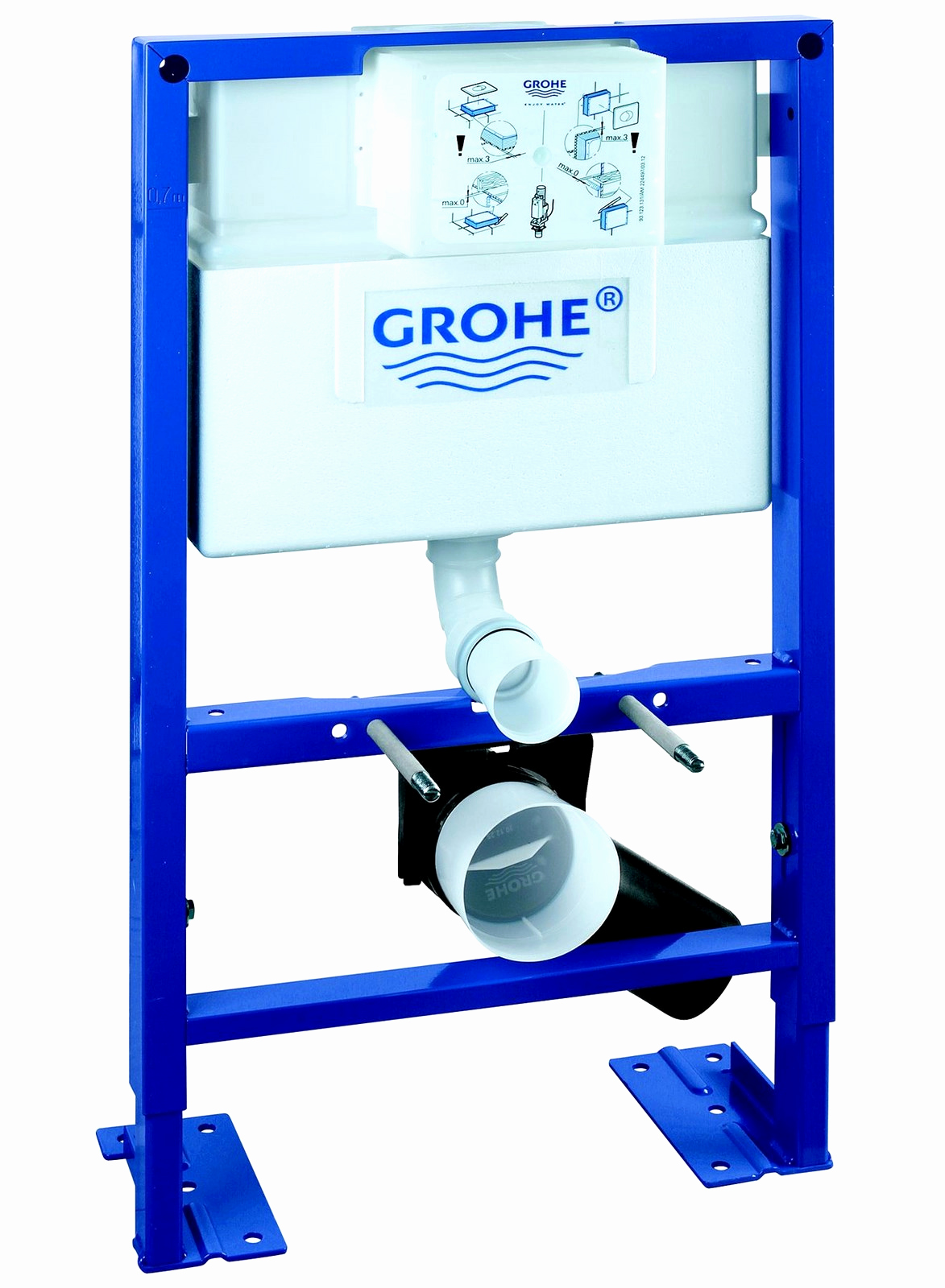 Bati support grohe leroy merlin