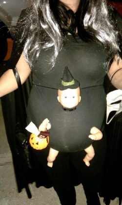 Deguisement halloween femme enceinte