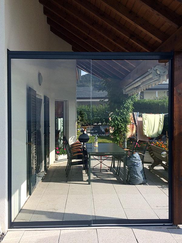 Brise vent en verre pour terrasse prix