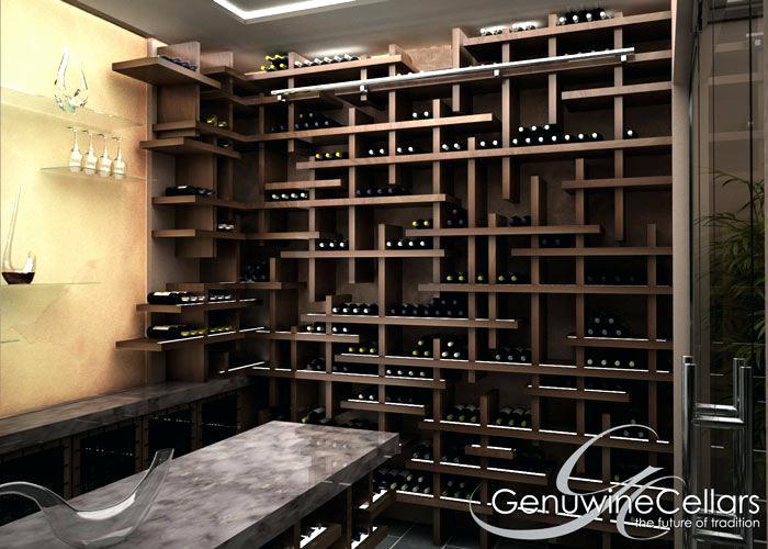cave a vin design contemporain chaton chien donner. Black Bedroom Furniture Sets. Home Design Ideas