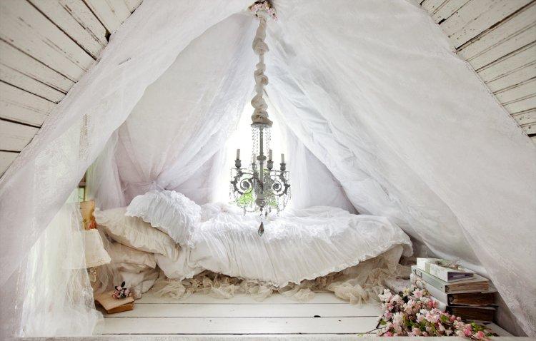 Chambre boheme romantique