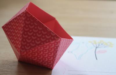 Vide poche origami