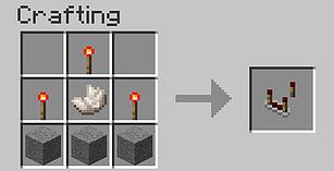 Comment faire des escalier dans minecraft