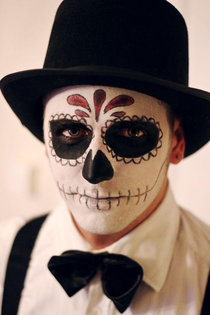 Santa muerte maquillage homme
