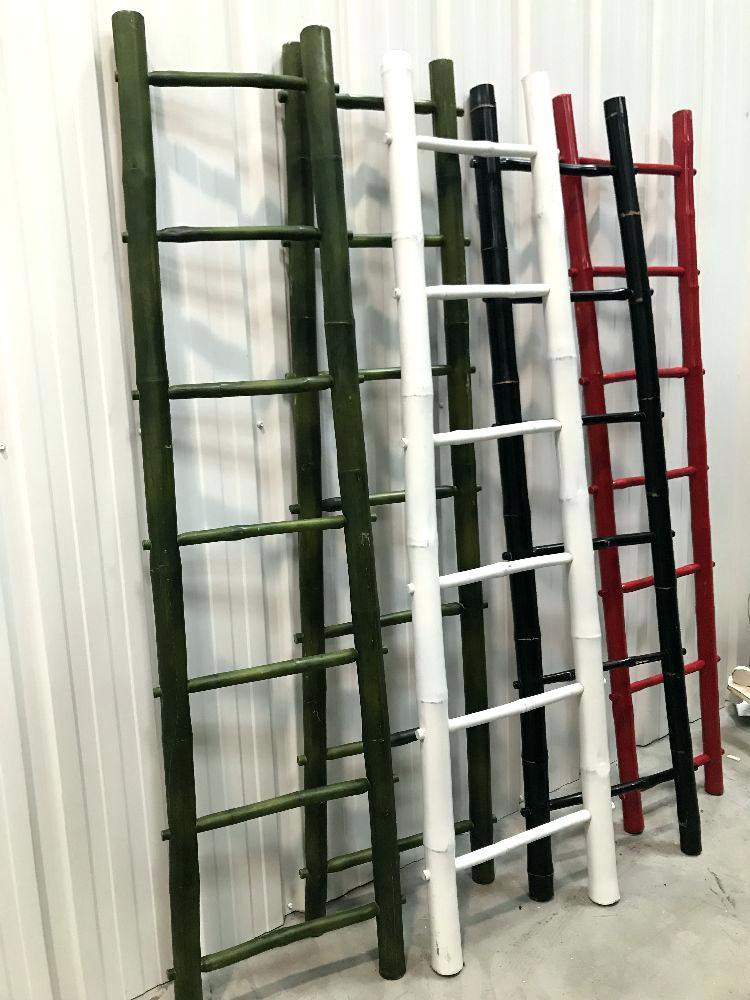 Porte serviette bambou casa