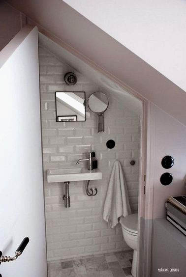 Salle de bain sous pente 5m2
