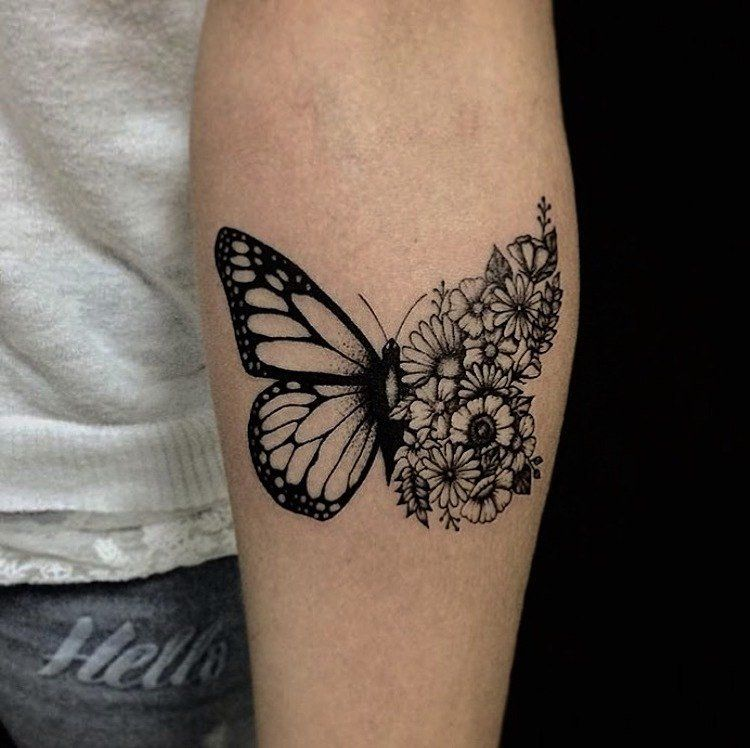 Signification tatouage papillon