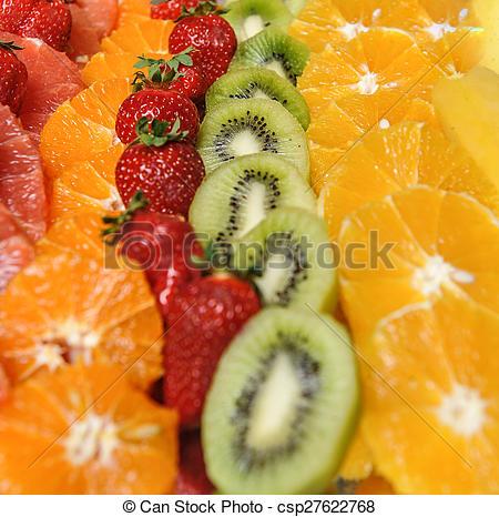 Decoupe fruit decoration