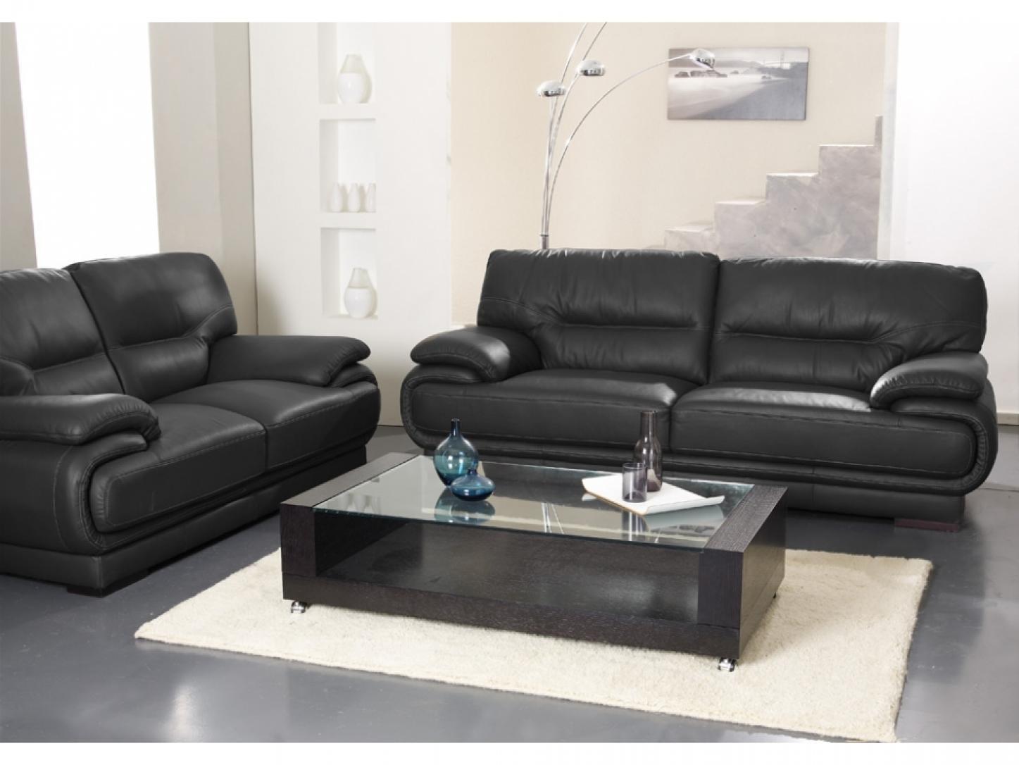 Canapé simili cuir conforama
