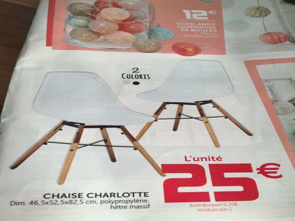 Chaise charlotte gifi avis