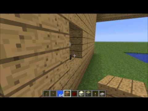 Comment faire un escalier minecraft