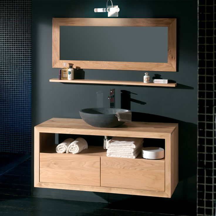 Meuble salle de bain nordique