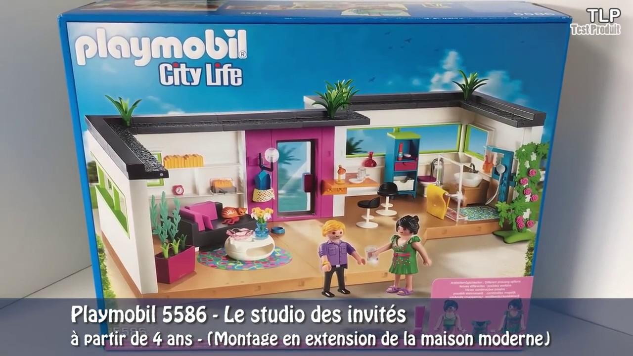 Studio invite playmobil