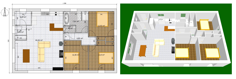 prix d une maison phenix 100m2 chaton chien donner. Black Bedroom Furniture Sets. Home Design Ideas