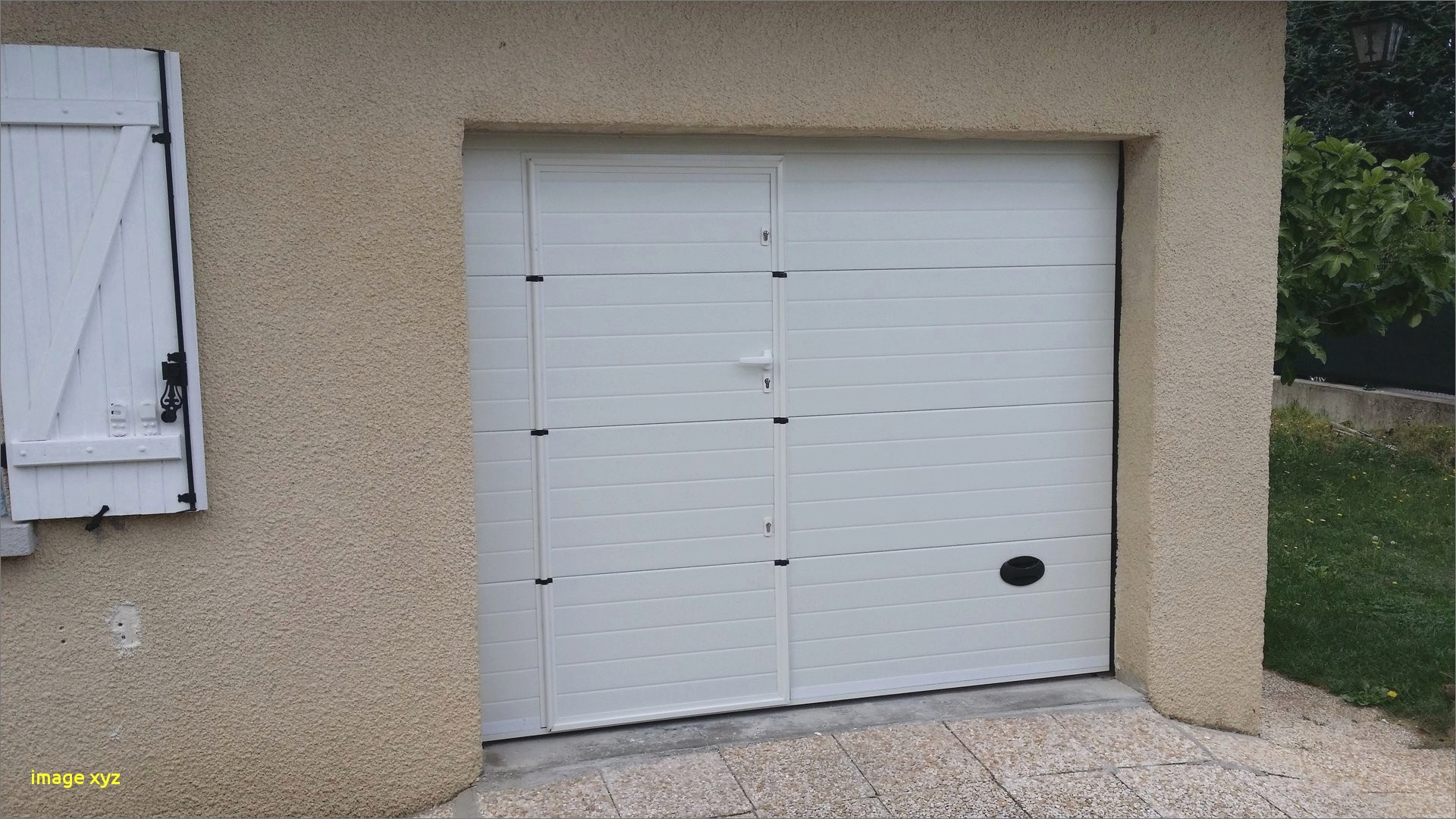 Montage porte de garage sectionnelle brico depot