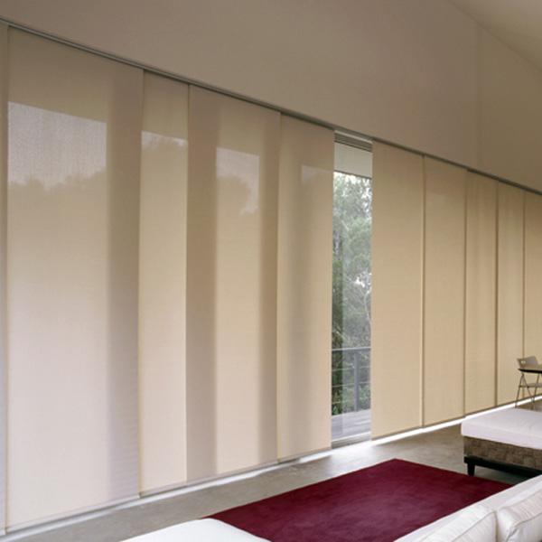 Quel rideau pour baie vitrée coulissante