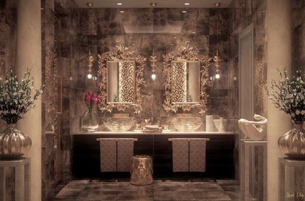 Salle de bain orientale luxe