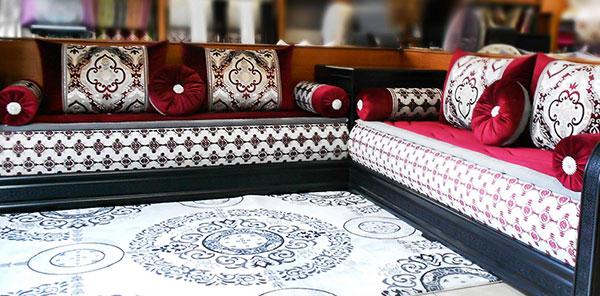 Salon marocain nina bazar
