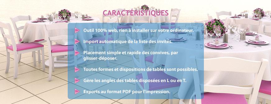 Logiciel plan de table gratuit français