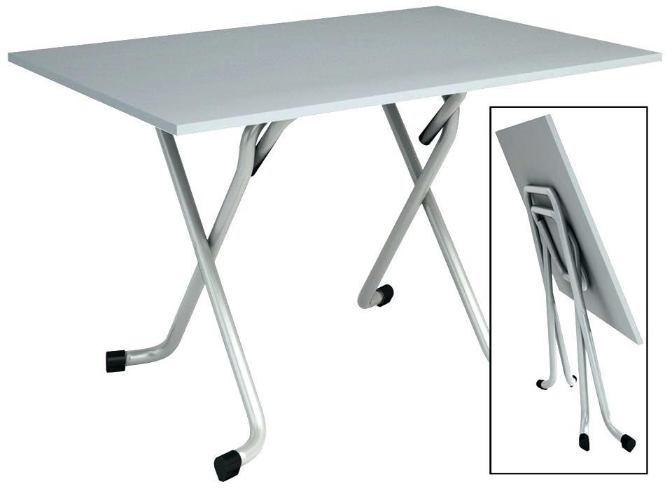 Table escamotable but