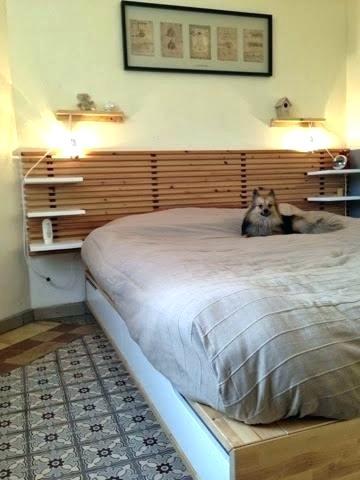 Ikea tete de lit mandal
