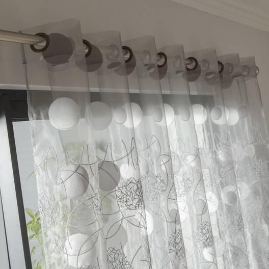 Voilage pour baie vitrée coulissante